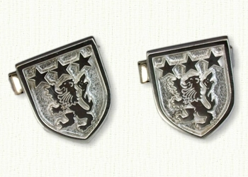 Family Crest Cuff Links
