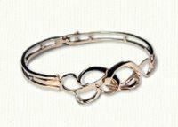 B G monogram bracelet