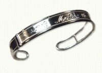 Leaf Cuff bracelet and earrings