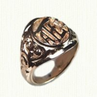 14KY Signet Ring
