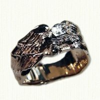 Custom Eagle Signet Ring