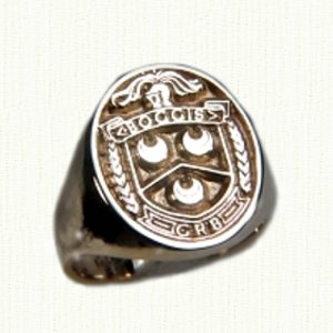 Family Crest Rings on Custom Family Crest Rings